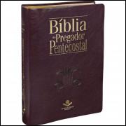 Bíblia do Pregador Pentecostal Grande com Índice Vinho