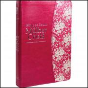 Bíblia de Estudo da Mulher Cristã Grande Pink