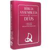 Bíblia Assembleia de Deus com Harpa Cristã Letra Grande Luxo Pink