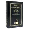 Bíblia Assembleia de Deus com Harpa Cristã Letra Grande Luxo Preta
