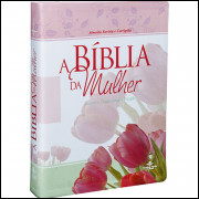 Bíblia da Mulher Grande Ilustrada Flores