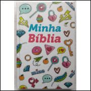 Bíblia Sagrada Letra Normal Capa Dura Minha Bíblia