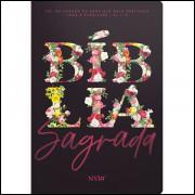 Bíblia Jardim Floral Primavera NVI Capa Flexível